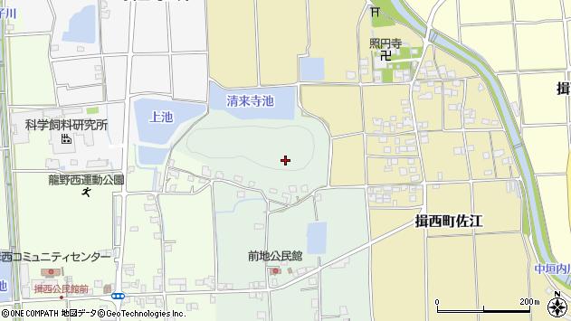 〒679-4012 兵庫県たつの市揖西町前地の地図