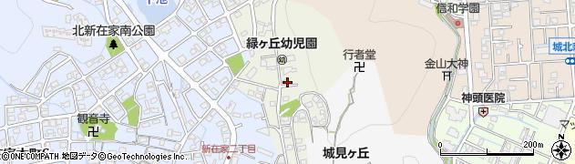兵庫県姫路市八代緑ケ丘町周辺の地図