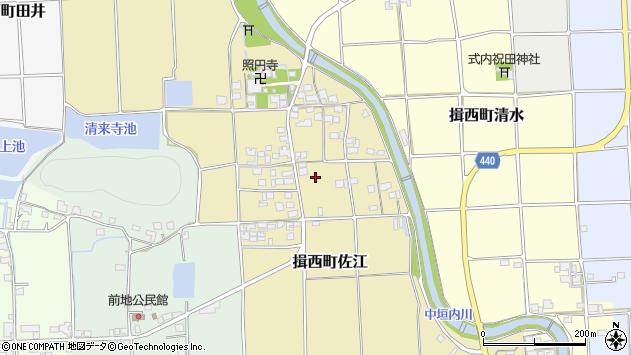 〒679-4011 兵庫県たつの市揖西町佐江の地図