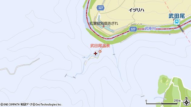 〒669-1251 兵庫県西宮市塩瀬町名塩5313-33番地の地図