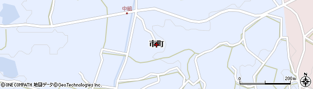 広島県庄原市市町周辺の地図