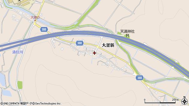 〒671-0204 兵庫県姫路市飾東町大釜新の地図