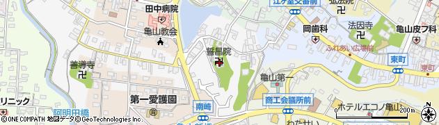 誓昌院周辺の地図