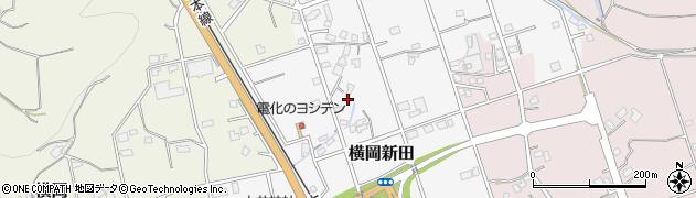 静岡県島田市横岡新田周辺の地図