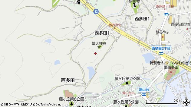 〒666-0138 兵庫県川西市西多田の地図