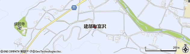 岡山県岡山市北区建部町富沢周辺の地図