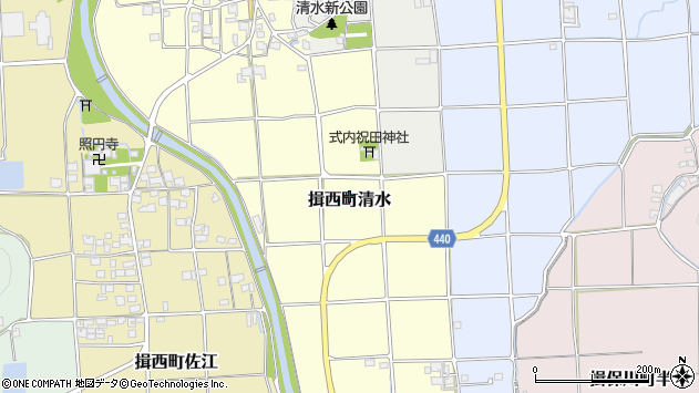 〒679-4005 兵庫県たつの市揖西町清水の地図