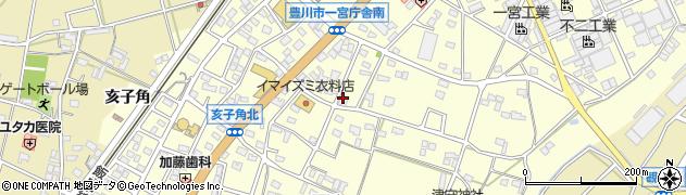 まる伊周辺の地図