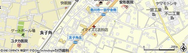 株式会社角屋 一宮支店周辺の地図