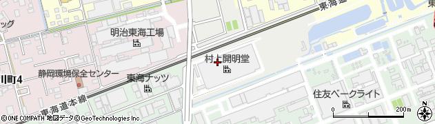 静岡県藤枝市築地上周辺の地図