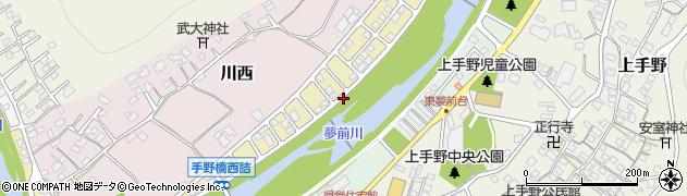 兵庫県姫路市川西台周辺の地図