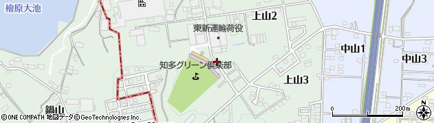 愛知県武豊町(知多郡)上山周辺の地図