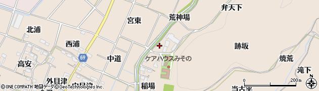 愛知県豊川市金沢町(弁天下)周辺の地図