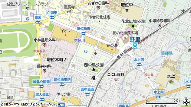 〒670-0806 兵庫県姫路市増位新町の地図