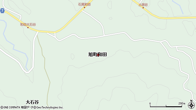 〒697-0424 島根県浜田市旭町和田の地図