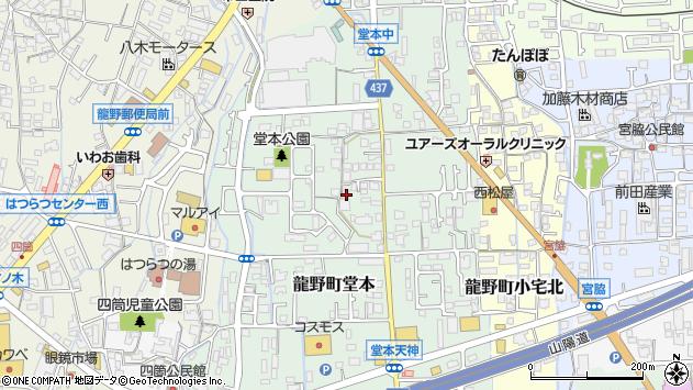 〒679-4129 兵庫県たつの市龍野町堂本の地図