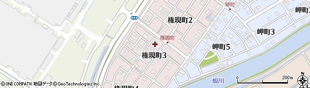 愛知県碧南市権現町周辺の地図