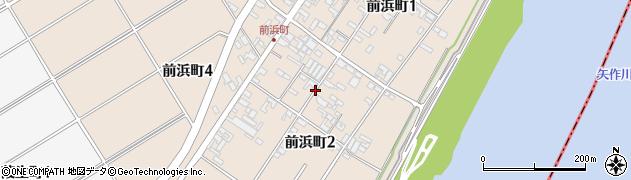 愛知県碧南市前浜町周辺の地図