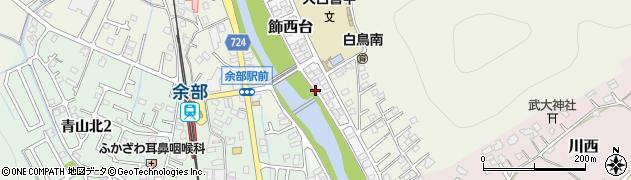 兵庫県姫路市飾西台周辺の地図