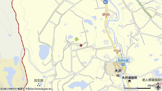 〒651-1524 兵庫県神戸市北区大沢町中大沢の地図