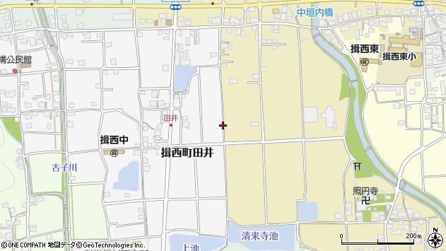 〒679-4006 兵庫県たつの市揖西町田井の地図
