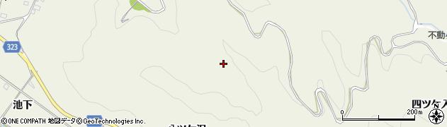 愛知県幸田町(額田郡)荻(船ケ入)周辺の地図