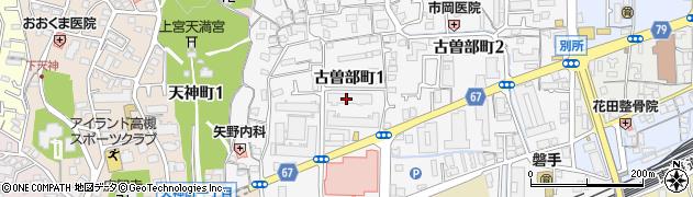 東レ寮周辺の地図