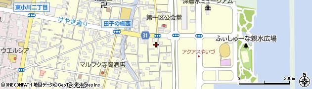 静岡県焼津市鰯ケ島周辺の地図