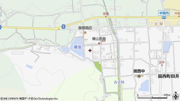 〒679-4007 兵庫県たつの市揖西町構の地図
