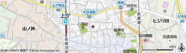 愛知県武豊町(知多郡)下門周辺の地図