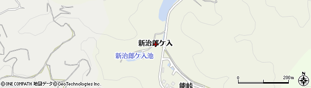 愛知県幸田町(額田郡)野場(新治郎ケ入)周辺の地図