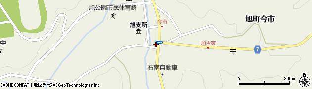 島根県浜田市旭町今市(新町)周辺の地図