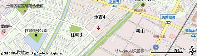 ちから周辺の地図