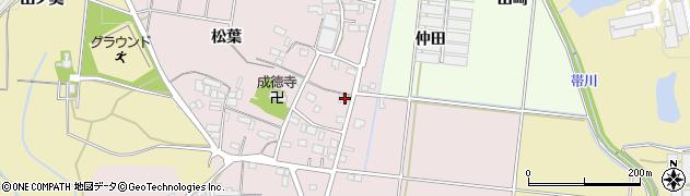 愛知県豊川市西原町(重藤)周辺の地図