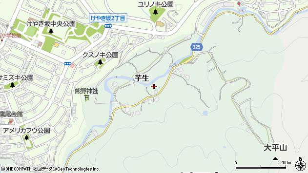 〒666-0146 兵庫県川西市芋生の地図