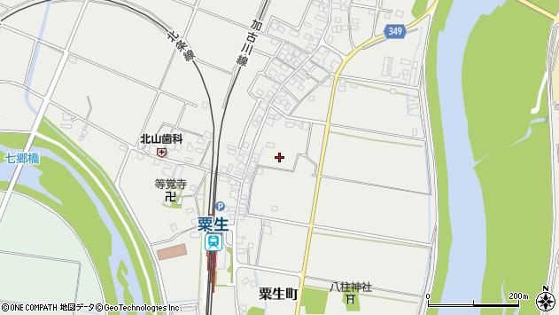 〒675-1358 兵庫県小野市粟生町の地図