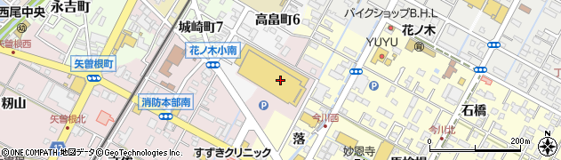 鞍馬周辺の地図