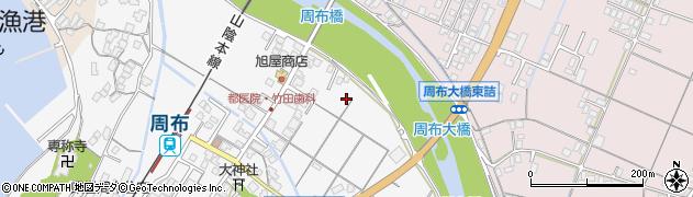 島根県浜田市治和町周辺の地図