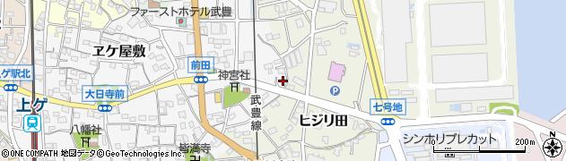 シャンソン周辺の地図