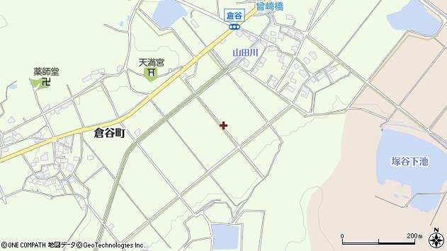 〒675-2221 兵庫県加西市倉谷町の地図