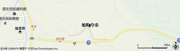 島根県浜田市旭町今市周辺の地図