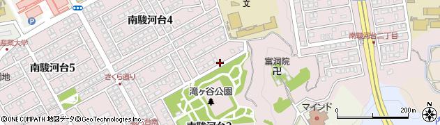 静岡県藤枝市南駿河台周辺の地図