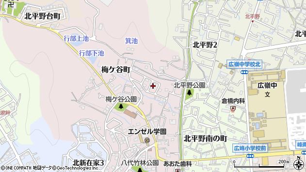 〒670-0894 兵庫県姫路市梅ケ谷町の地図