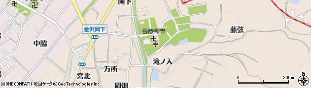 愛知県豊川市金沢町(藤弦)周辺の地図