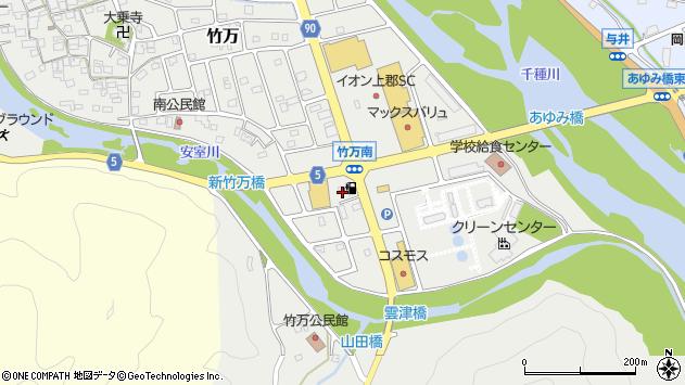〒678-1232 兵庫県赤穂郡上郡町竹万の地図