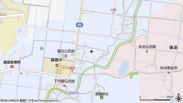 〒678-1216 兵庫県赤穂郡上郡町中野の地図