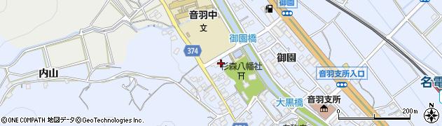 愛知県豊川市赤坂町(西縄手)周辺の地図