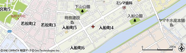 愛知県碧南市入船町周辺の地図