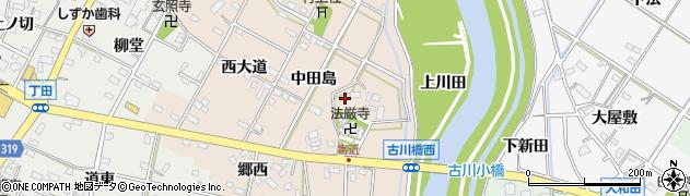愛知県西尾市寄近町(堂本)周辺の地図