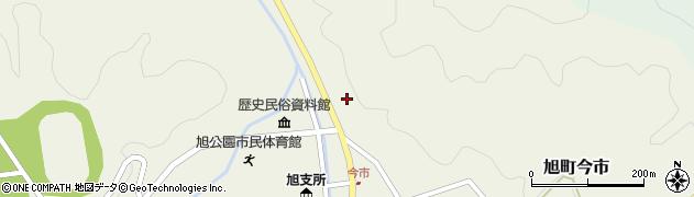 島根県浜田市旭町今市(福屋)周辺の地図